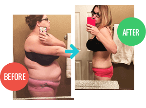 2 Week Diet review, Before and After pic 3