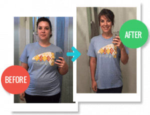 2 Week Diet review, Before and After pic 6