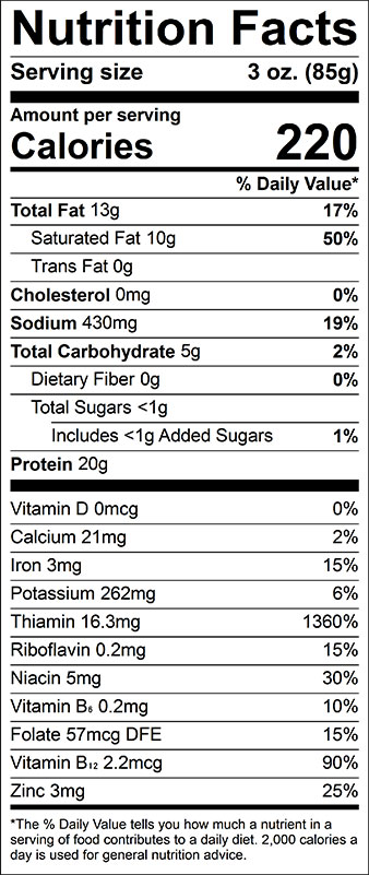 impossible burger nutrition facts