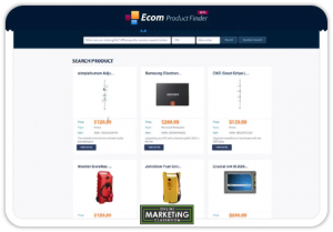 image of ecom product finder
