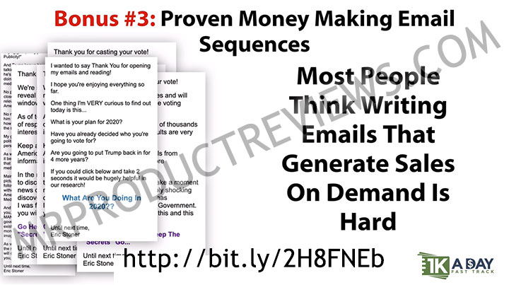 bonus 3 - money making email sequencces