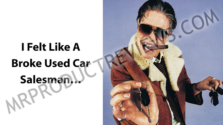 used car sales man